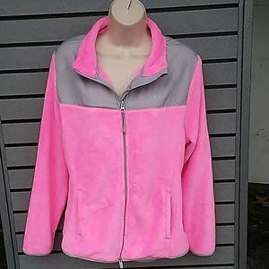 Danskin, pink & gray, size XL (16-18)